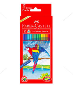 Faber Castell 12 Grip Colour Pencil by StatMo.in