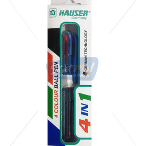 Hauser 4 In 1 Colour Ball Pen by StatMo.in