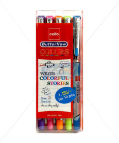 Cello Butterflow Colors Ball Pen by StatMo.in