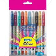 Linc Shine Sparkle Glitter Gel Pens by StatMo.in