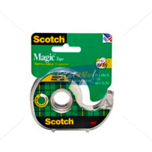 3M Scotch Magic Tape (With Dispenser) by StatMo.in