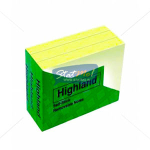3M Highland Self Stick Removable Notes by StatMo.in