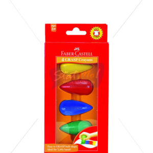 Faber Castell 4 Grasp Crayons by StatMo.in