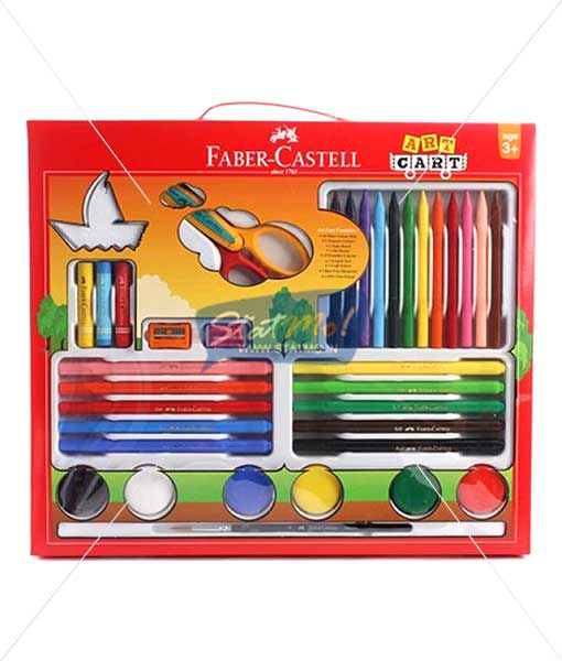 Faber Castell Art Cart Kit by StatMo.in
