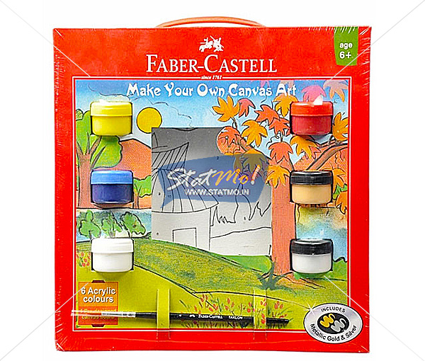 Faber Castell Canvas Kit by StatMo.in