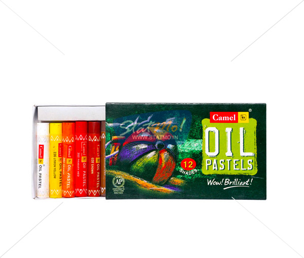 Camlin Oil Pastel 12 Shades by StatMo.in