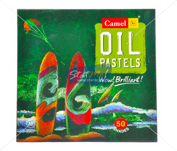 Camlin Oil Pastel 50 Shades by StatMo.in