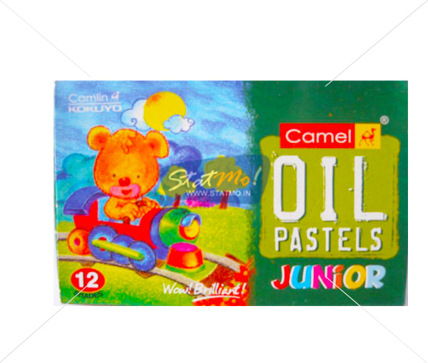 Camlin Oil Pastel Junior 12 Shades by StatMo.in