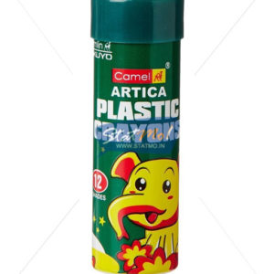 Camlin Plastic Crayons 12 Shades by StatMo.in