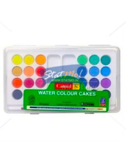 Camlin Students Water Colour Cakes 24 Shades by StatMo.in