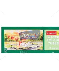 Camlin Students Water Colour Tubes 14 Shades by StatMo.in