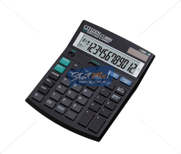 Citizen Calculator Check & Correct Series 12 Digit by StatMo.in