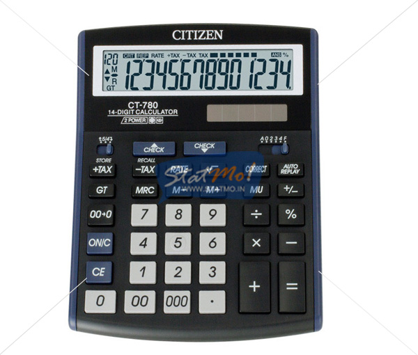 Citizen Calculator Check & Correct Series (14 Digits) by StatMo.in