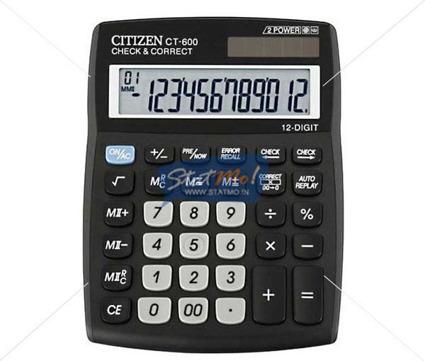 Citizen Calculator Check & Correct Series by StatMo.in