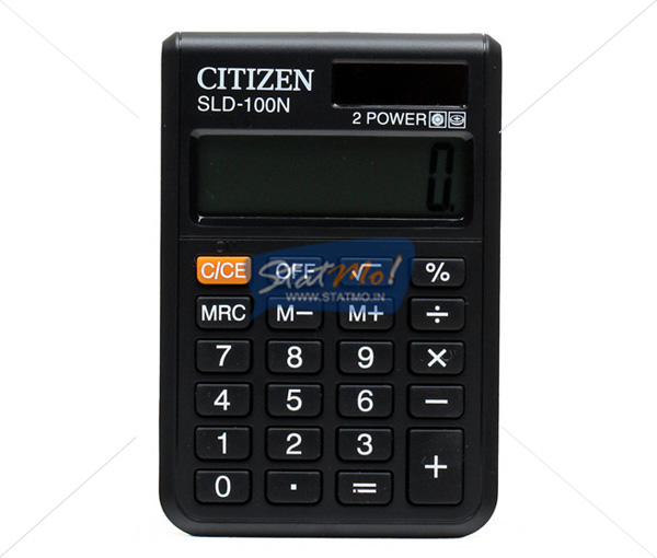 Citizen Calculator Pocket Series (8 Digits) by StatMo.in