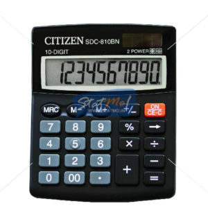 Citizen Calculator Semi Desktop / Desktop Series (10 Digits) by StatMo.in
