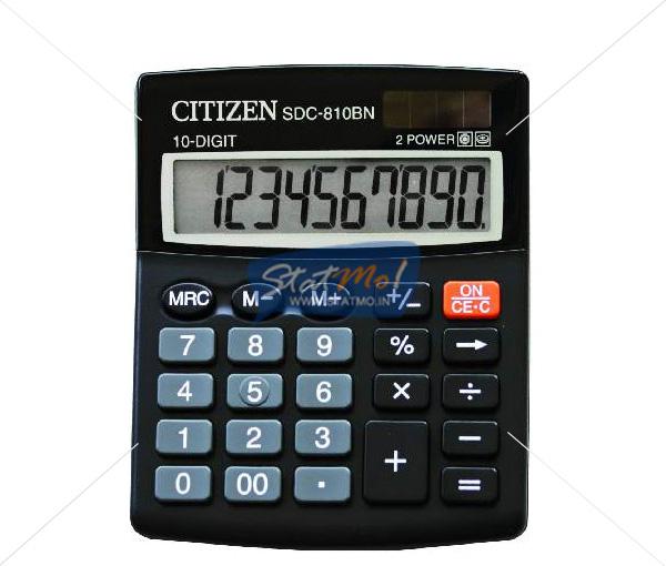 Citizen Calculator Semi Desktop / Desktop Series (10 Digits) by StatMo.in