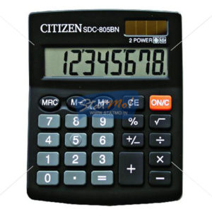 Citizen Calculator Semi Desktop / Desktop Series (8 Digits) by StatMo.in