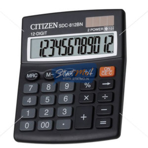 Citizen Calculator Semi Desktop / Desktop Series (12 Digits) by StatMo.in