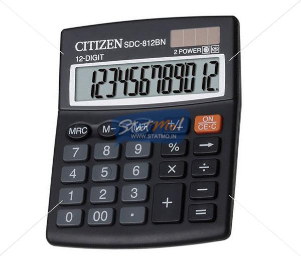 Citizen Calculator Semi Desktop / Desktop Series (12 Digits) by StatMo.in