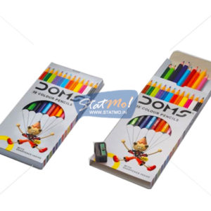 Doms 12 Long Colours Pencils by StatMo.in