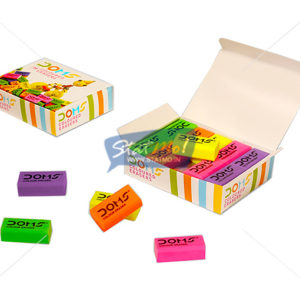 Doms Coloured Eraser by StatMo.in