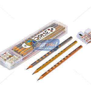 Doms Groove Slim Triangle Pencils by StatMo.in