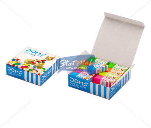 Doms Long Coloured Eraser by StatMo.in