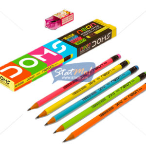 Doms Neon Pencils by StatMo.in