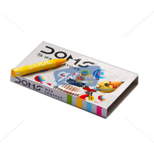 Doms Wax Crayons 12 Shades by StatMo.in