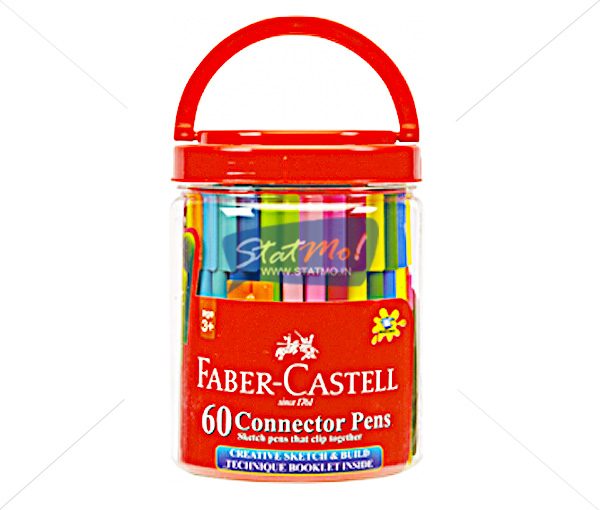 faber castell connector pens 60 shades by. Black Bedroom Furniture Sets. Home Design Ideas