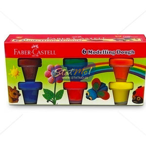 Faber Castell Dough 6 Shades by StatMo.in