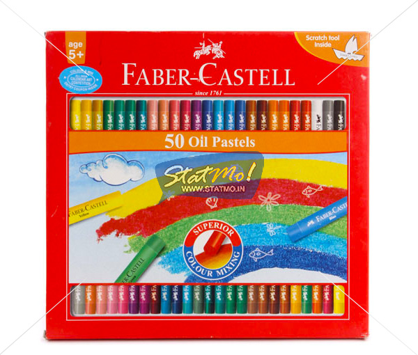 Faber Castell Oil Pastel 50 Shades by StatMo.in