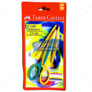 Faber Castell Scissors Craft Set of 2 Cut by StatMo.in