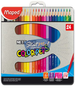 Maped Color Pencil 24 Shedes by StatMo.in