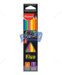 Maped Color Pencil Fluorescent Set of 6 by StatMo.in