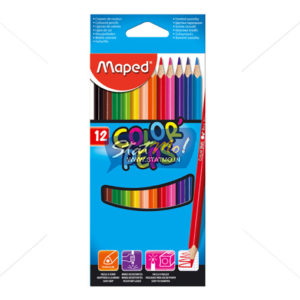 Maped Color Pencils 12 Shades by StatMo.in