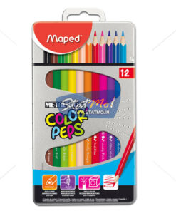 Maped Color Pencils 12 Sheds by StatMo.in