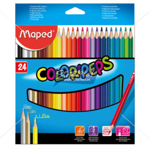 Maped Color Pencils 24 Shades by StatMo.in