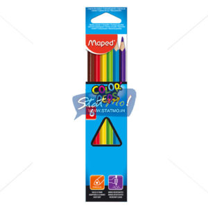 Maped Color Pencils Set of 6 by StatMo.in