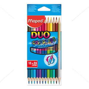 Maped Color – Peps Duo (24 Coloures) by StatMo.in