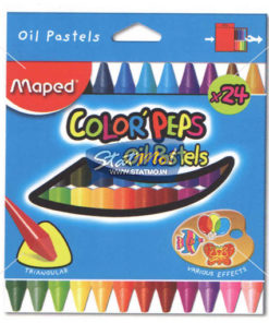 Maped Oil Pastel In Box of 24 by StatMo.in