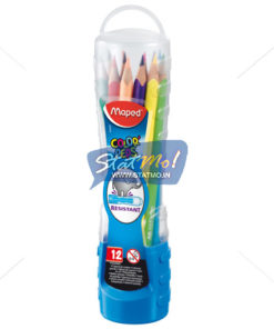 Maped Pencils Color Peps X 12 Plastic Box by StatMo.in