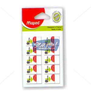 Maped Technic 100 Eraser (Pouch of 10pcs) by StatMo.in