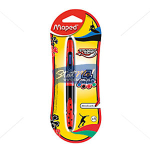 Maped Twin Tip 4 Classic Color (Collector Boy) Ball Pen by StatMo.in