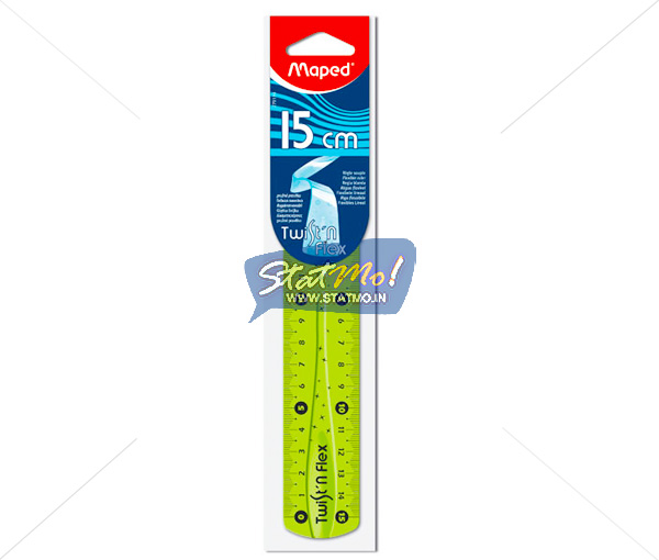 Maped Twist And Flex Scale 15 cm by StatMo.in
