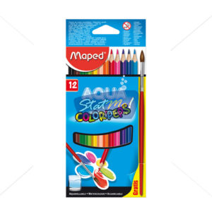 Maped Water Color Peps 12 Pencils by StatMo.in
