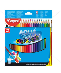 Maped Water Color Peps 24 Pencils by StatMo.in