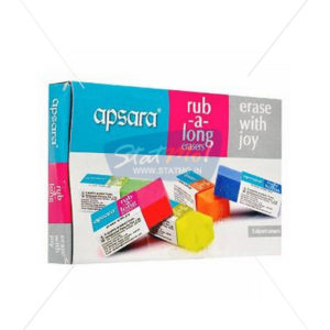 Apsara Long Erasers Big by StatMo.in