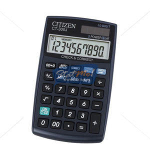 Citizen Calculator Check & Correct Series 10 Digits by StatMo.in